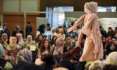 Fashion Muslim, Inggris Tunjukkan Antusias Lewat Saverah Women Expo
