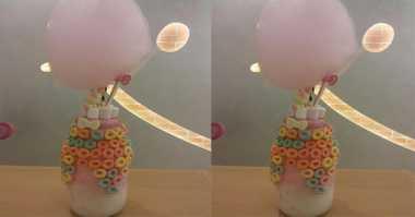 Wow, Minuman Cantik ala Hello Kitty Ini Berukuran Raksasa