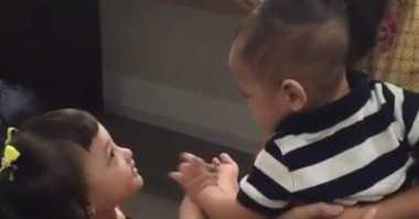 FOTO: Senangnya Putri Ashanty Ketemu Anak Raffi Ahmad