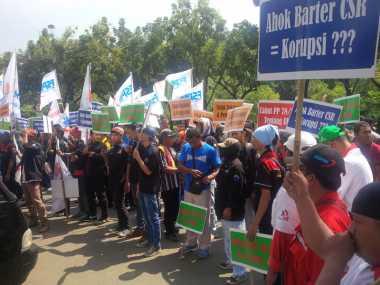 Buruh Desak KPK Seret Ahok ke Penjara