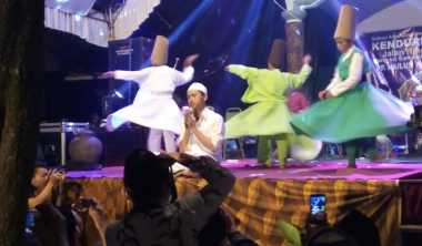 Jelang Ramadan, Warga Jepara Gelar Tari Sufi