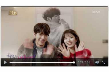 Pacar Lee Min Ho Pasrah Dipeluk Kim Woo Bin
