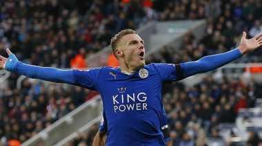Legenda Puji Keputusan Jamie Vardy Bertahan di Leicester City