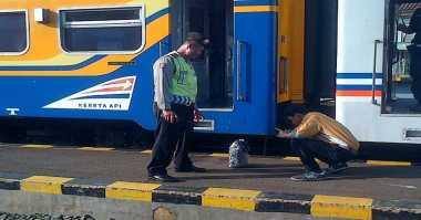 Cairan Pembersih Karat Hebohkan Stasiun Lempuyangan Yogyakarta