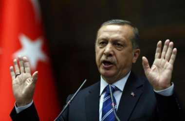 Erdogan Temui Pimpinan Hamas di Istanbul