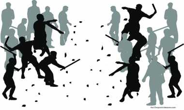 Polisi Bubarkan Bentrokan Remaja di Pancoran