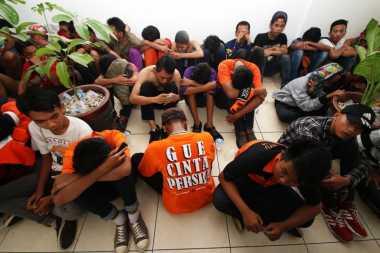 Polsek Cengkareng Tangkap 18 Orang Oknum Suporter Persija