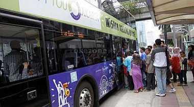 TOP TRAVEL 4: Bus City Tour Bantu Tingkatkan Pariwisata Jakarta