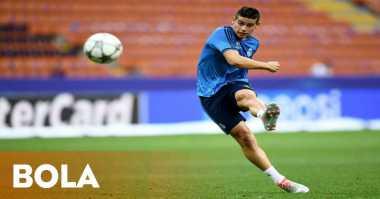 Hot Soccer: James Rodriguez Bisa Merapat ke Old Trafford pada Musim Panas Ini