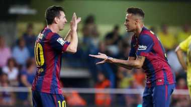 Messi: Pujian Neymar Buat Saya Tersipu Malu