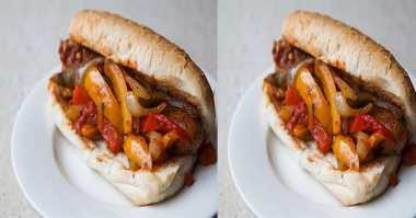 Bikin Sausage Pepper Sandwich untuk Buka Puasa Yuk...