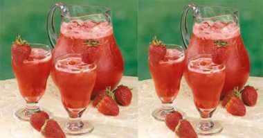 Gelitik Lidah dengan Segarnya Strawberry Cooler untuk Buka Puasa