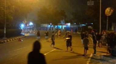 Usai Sahur, Dua Kelompok Tawuran dan Perang Petasan di Tangerang