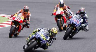 Rossi Optimistis Bisa Asapi Marquez dan Lorenzo di Assen