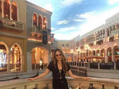 FOTO: Intip Liburan Cinta Laura di Las Vegas