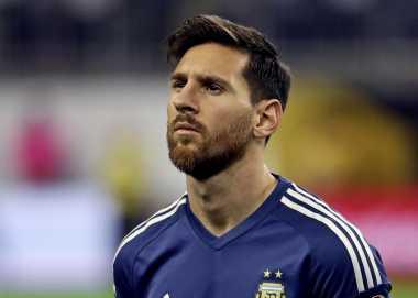 Messi Bertekad Bantu Argentina Habis-habisan melawan Cile