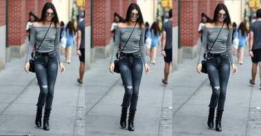 Kendall Jenner Akui Suka Pakai Celana Jins