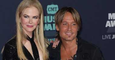Nicole Kidman Rayakan Ultah Pernikahan Lewat Aplikasi