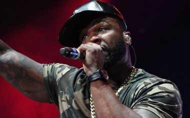 50 Cent Ditahan Polisi karena Mengumpat di Atas Panggung