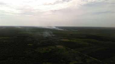 Lahan Warga Terbakar, Pesawat & Heli Dikerahkan untuk Pengeboman Air
