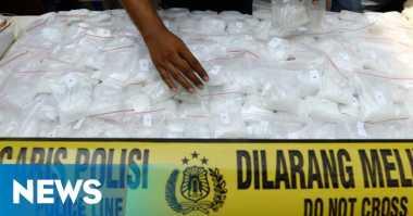 Sabu 4,8 Kg dalam Bungkus Teh Diamankan Polisi
