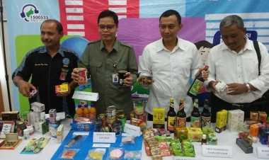 Dari Toko Kelontong, BPOM Banten Sita 134 Obat-obatan Terlarang