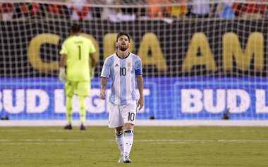 Messi Indikasikan Pensiun dari Timnas Argentina