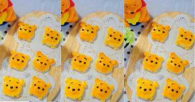 FOTO: Menggemaskan, Kastangels Winnie The Pooh untuk Lebaran