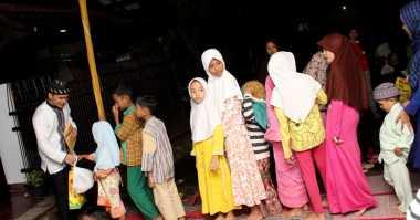 Bintang Film Tol Cipali KM182 Gelar Bukber dan Santunan Anak Yatim