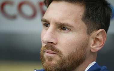 Messi Pensiun dari Timnas Argentina, Pelatih Timnas Ekuador: Seharusnya Dia Tidak Menyerah