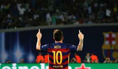 Pique Beri Dukungan untuk Messi