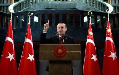 Erdogan: Bom di Bandara Bertujuan Merusak Turki