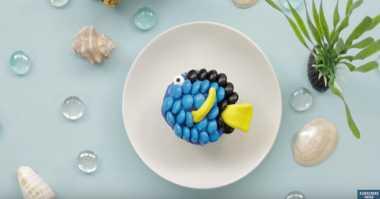 FOTO: Menggemaskan, Ini Cara Bikin Cupcakes 'Finding Dory'
