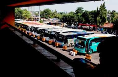 Jumlah Pemudik di Terminal Bus Kota Bekasi Diperkirakan Turun