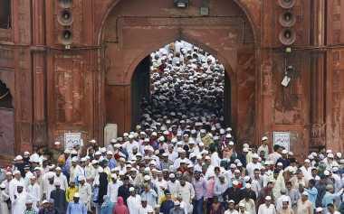 Tak Seperti Negara Lain, India Berlebaran pada 7 Juli
