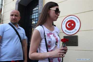 Hubungannya Membaik, Rusia Turut Berduka atas Bom Bandara Turki
