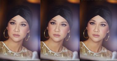 FOTO: Pakai Turban, Bunga Citra Lestari Makin Cantik
