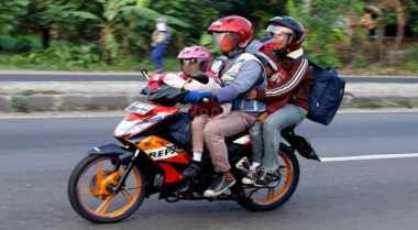 Demi Bertemu Keluarga, Ardi Nekat Mudik Bersepeda Motor 12 Jam