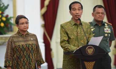 Presiden Jokowi Bagikan Ribuan Sembako di Serang Hari Ini