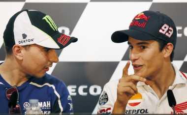 Lorenzo Menilai Persaingan dengan Marquez sangat Berat