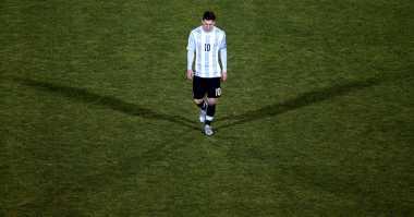 Presiden Argentina Siap Lindungi Lionel Messi di Timnas