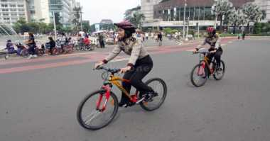 Banyak Rumah Kosong Ditinggal Mudik, Polisi Gencarkan Patroli Bersepeda