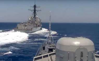 Rekaman Overtaking USS Gravely terhadap Fregat Rusia Diklaim Rekayasa