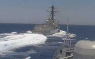 Rusia Keukeuh Salahkan AS soal Insiden di Mediterania