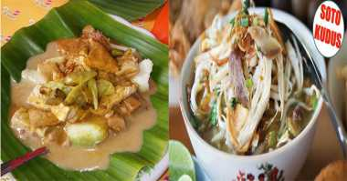Sampai di Kudus, Mampir Makan Sate Kerbau & Lentog Tanjung