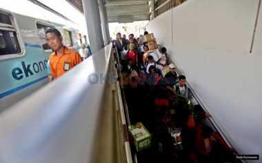 Kemenhub: Stasiun Senen Terbanyak Layani Pemudik