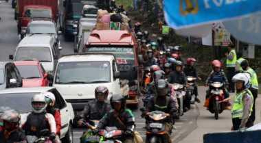 INFO MUDIK: Ini Lokasi 'Check Point' Pemudik Bermotor di Bekasi
