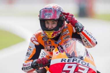 Hot Sport: Honda RC213V Milik Marquez Lebih Bertaji saat Hujan