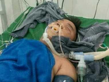 FOTO: Hendrik Ceper Masih Dirawat Intensif karena Sakit Ginjal dan Jantung
