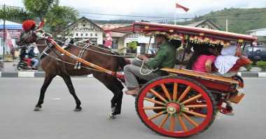 Selama Musim Mudik, Delman Dilarang Beroperasi di Garut